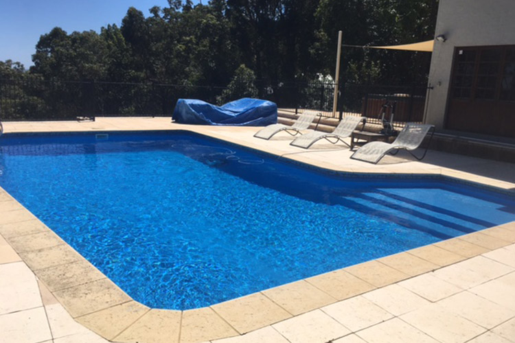vinyl pool liner installation