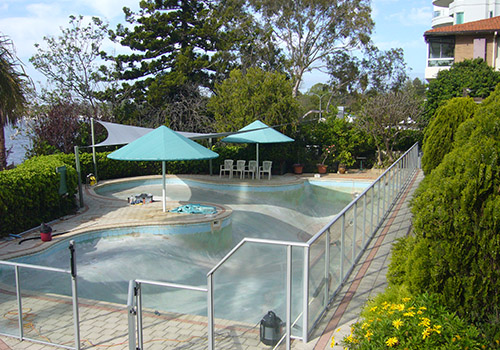 mounts bay commercial pool renovations perth - before